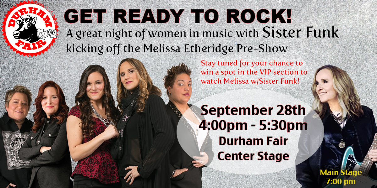 Sister Funk to play the Durham Fair 2018